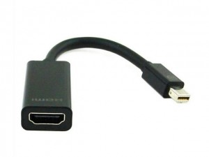 Gembird Adapter Displayport Mini(M)->HDMI(F)