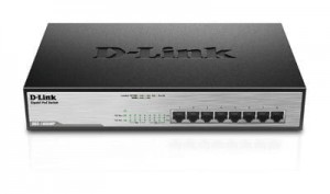 D-Link Switch Unmanaged DGS-1008MP 8xGbE