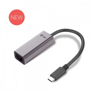 i-tec USB C adapter Metal Gigabit Ethernet, 1x USB-C do RJ-45