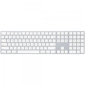 Apple Magic Keyboard with Numeric Keypad - International English - Silver