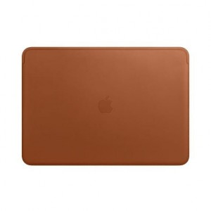 Apple Futerał Leather Sleeve for 15-inch MacBook Pro - Saddle Brown