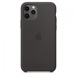 Apple Silikonowe etui do iPhone 11 Pro - czarne
