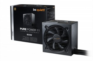 Be quiet! Zasilacz Pure Power 11 600W 80+ GOLD N.MODU BN294