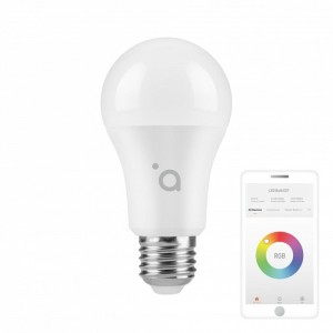 ACME Europe Żarówka LED WiFi Smart A60/10W/E27/RGB/800lm SH4107