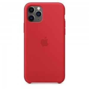 Apple Silikonowe etui do iPhone 11 Pro Max - (PRODUCT)RED