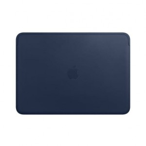 Apple Futerał Leather Sleeve for 13-inch MacBook Pro - Midnight Blue