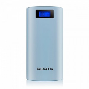 Adata Power Bank AP20000D 20000mAh 2.1A niebieski