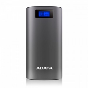 Adata Power Bank AP20000D 20000mAh 2.1A szary