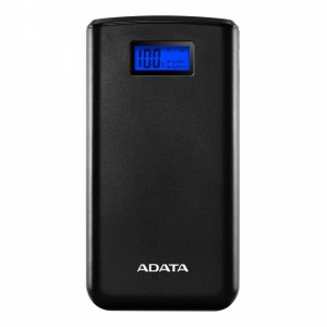 Adata Power Bank S20000D 20000mAh 2.1A czarny