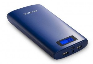 Adata Power Bank AP20000D 20000mAh Granatowy 2.1A