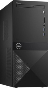 Dell Desktop Vostro 3681 i3-10100/4GB/256GB SSD/UHD 630/DVD RW/WLAN + BT/Kb/Mouse/Win10Pro 3Y BWOS