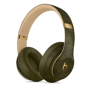 Apple Słuchawki Beats Studio3 Wireless Headphones - Beats Camo Collection - Forest Green