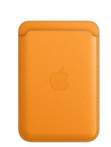 Apple Etui portfel iPhone Leather Wallet with MagSafe - California Poppy